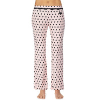 BETSEYS BEST RAYON KNIT PANT PINK - APPAREL - Betsey Johnson