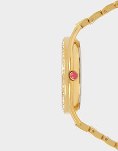 BETSEYS CLASSIC LINK WATCH GOLD
