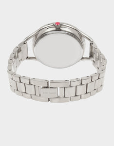 BETSEYS CLASSIC LINK WATCH SILVER