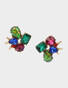 BETSEYS DAYDREAM CLUSTER STUDS MULTI