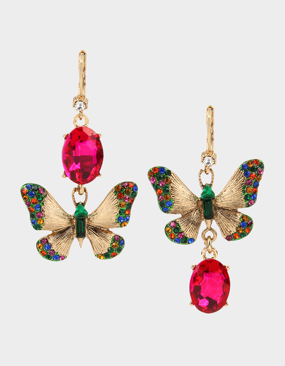 BETSEYS DAYDREAM MISMATCH EARRINGS MULTI