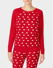 BETSEYS HOLIDAY PARTY PULLOVER RED - APPAREL - Betsey Johnson