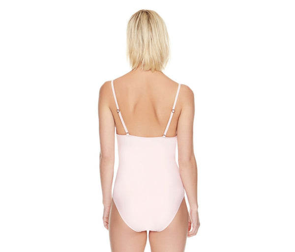 BETSEYS MALIBU SOLIDS ONE PIECE BLUSH - APPAREL - Betsey Johnson