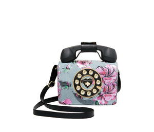 BETSEYS MINI PHONE BAG DENIM FABRIC