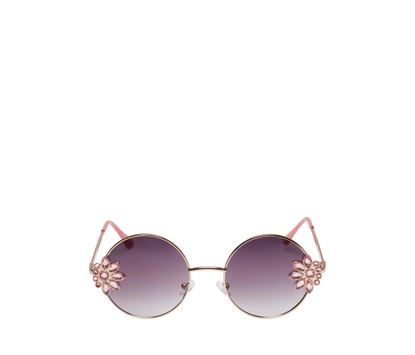 BETSEYS SIDE PIECE SUNGLASSES ROSE - ACCESSORIES - Betsey Johnson