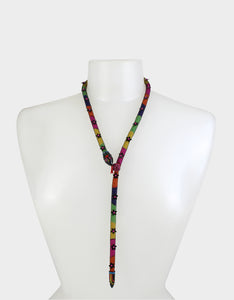 BETSEYVILLA DRAMA SNAKE NECKLACE MULTI