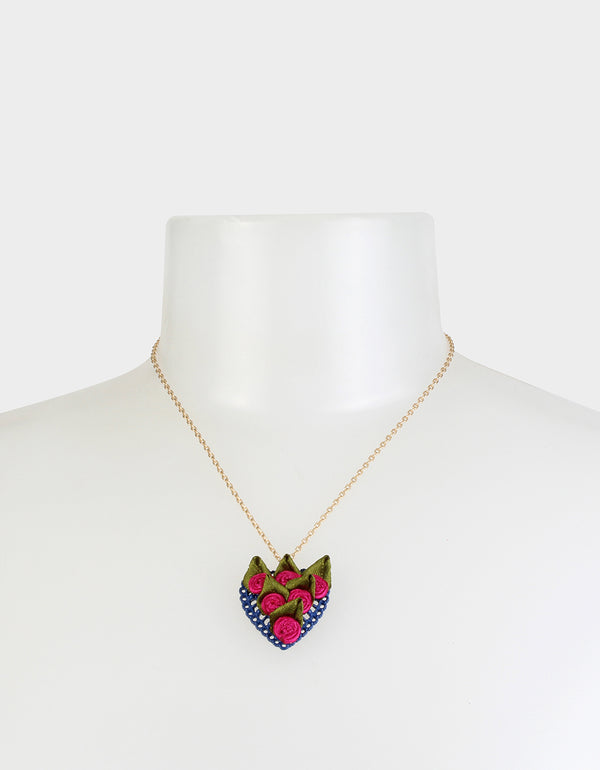 BETSEYVILLA HEART SET PINK - JEWELRY - Betsey Johnson