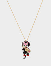 BETSEYVILLA MARIACHI CAT PENDANT MULTI - JEWELRY - Betsey Johnson