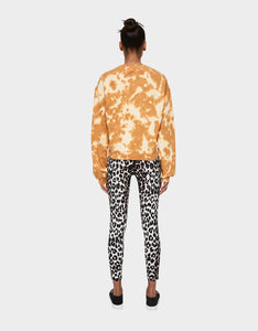 BETSEY IS TIE DYED SWEATSHIRT GOLD