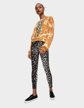 BETSEY IS TIE DYED SWEATSHIRT GOLD - APPAREL - Betsey Johnson