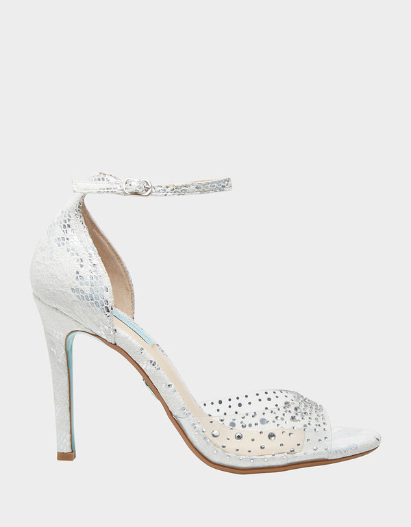 SB-ANI SILVER SNAKE - SHOES - Betsey Johnson