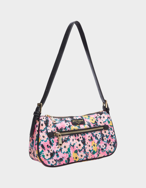 BETSIFIED POCHETTE FLORAL - HANDBAGS - Betsey Johnson