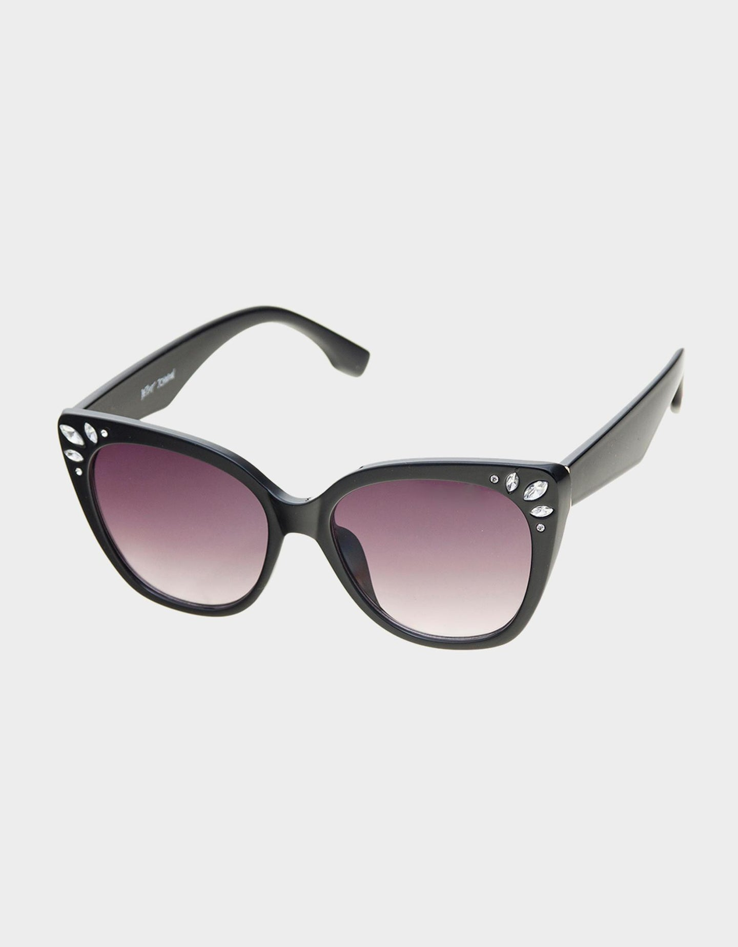 BIT OF BLING SUNGLASSES BLACK - ACCESSORIES - Betsey Johnson