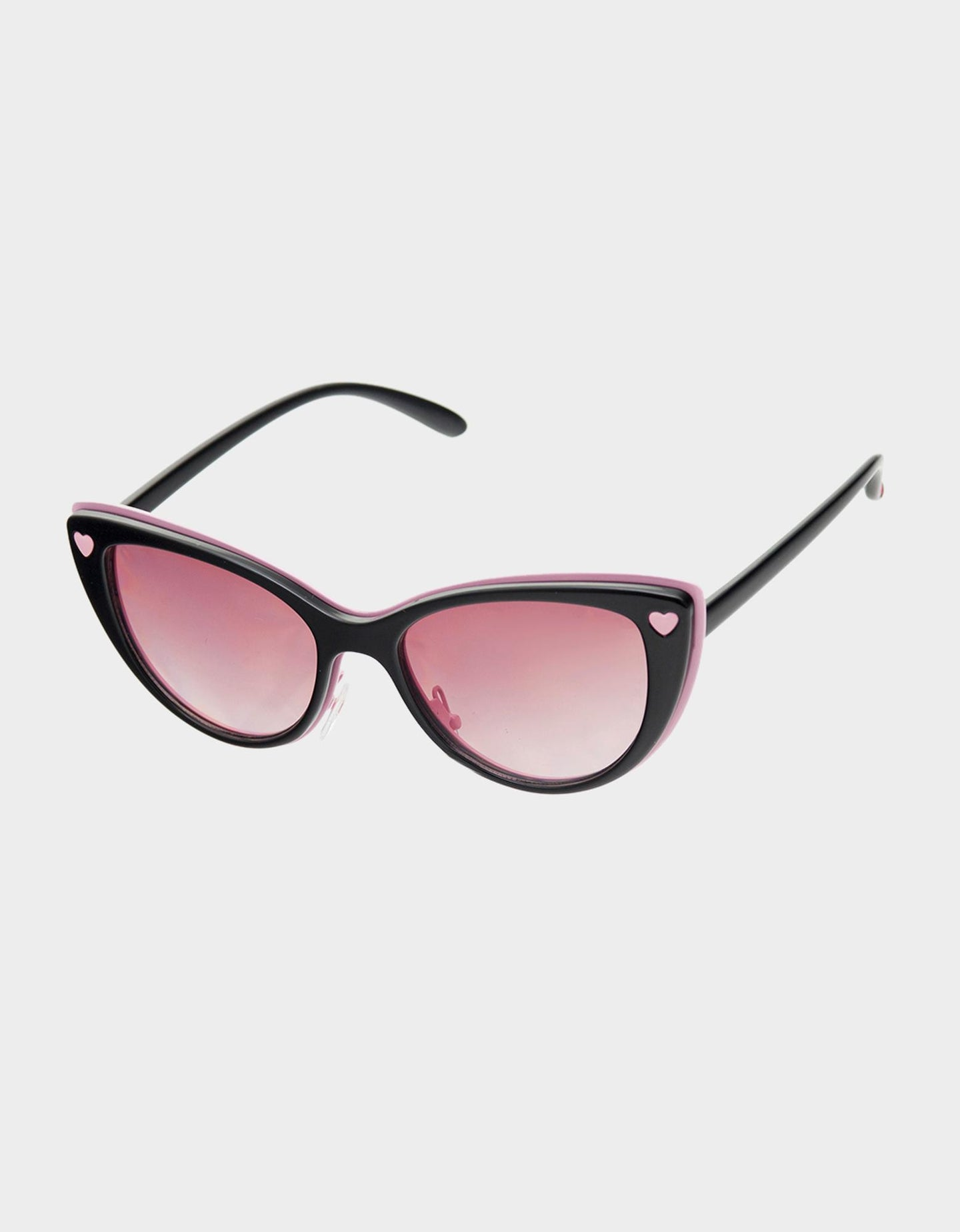 BITTY HEART SUNGLASSES BLACK - ACCESSORIES - Betsey Johnson