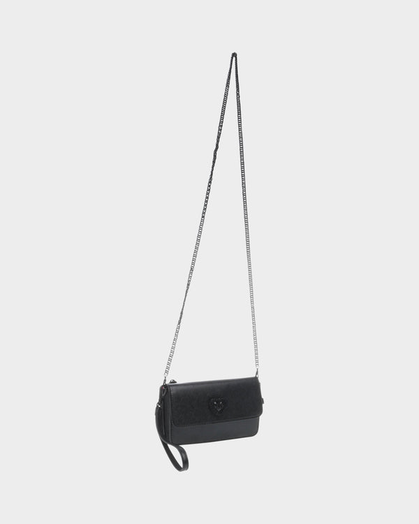 TAKE ME EVERYWHERE CROSSBODY BLACK - HANDBAGS - Betsey Johnson