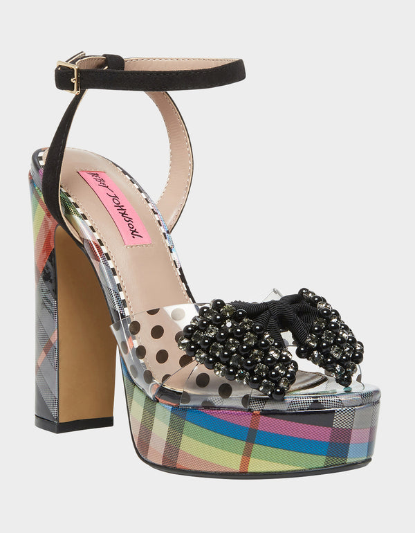 BLASIE BLACK - SHOES - Betsey Johnson