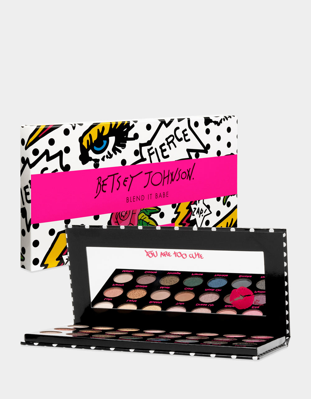 BLEND IT BABE EYE SHADOW PALETTE MULTI - COSMETICS - Betsey Johnson