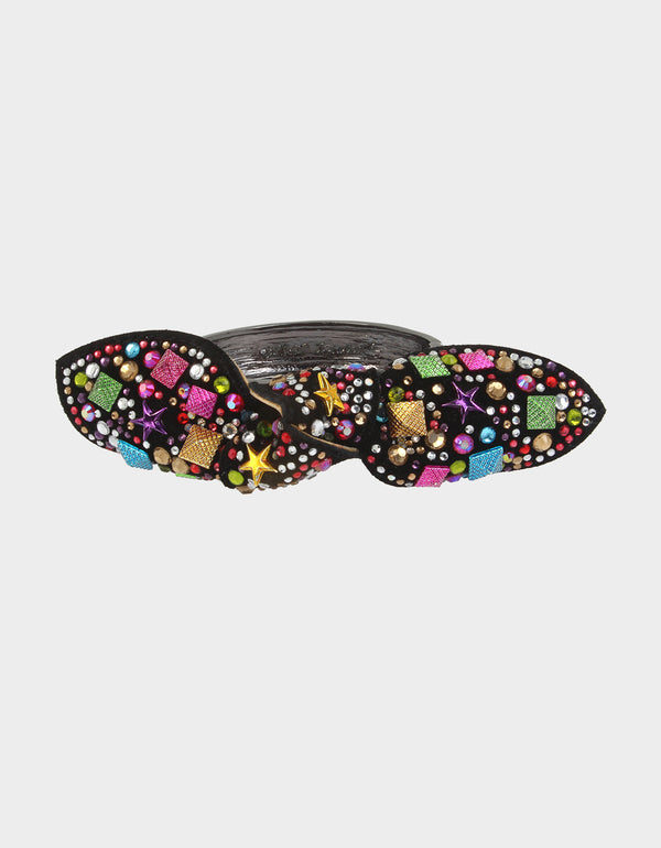 BOWTASTIC HINGE BANGLE MULTI - JEWELRY - Betsey Johnson