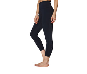 BOX PLEAT LEGGINGS BLACK