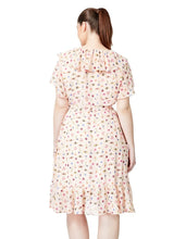 BUG GARDEN WRAP DRESS BLUSH MULTI (EXTENDED SIZING) - APPAREL - Betsey Johnson