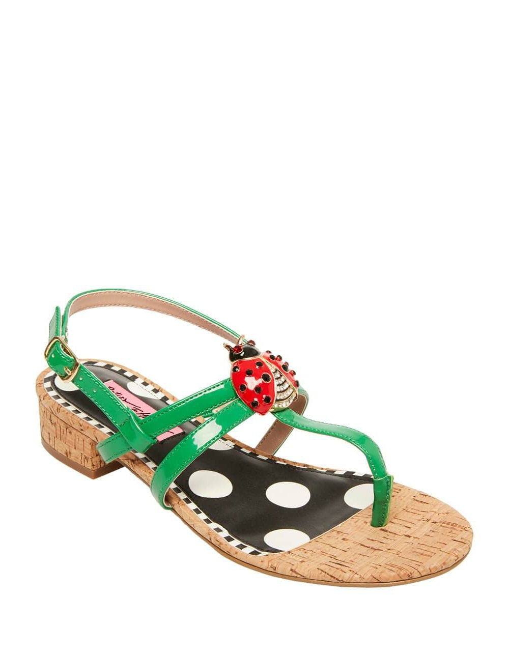 BUGGY NATURAL MULTI - SHOES - Betsey Johnson
