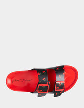 CALLI BLACK-RED - SHOES - Betsey Johnson