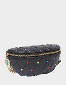 CANDY HEARTS FANNY PACK MULTI