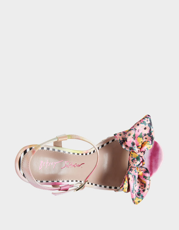 CARIE PINK MULTI - SHOES - Betsey Johnson