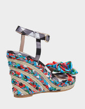 CARIE RED MULTI - SHOES - Betsey Johnson