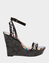 CHARISSA BLACK MULTI - SHOES - Betsey Johnson