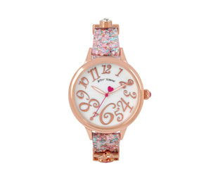 CHARM SLIDERS PINK WATCH PINK