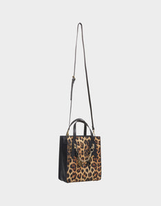 CHARMED AGAIN SMALL SHOPPER LEOPARD