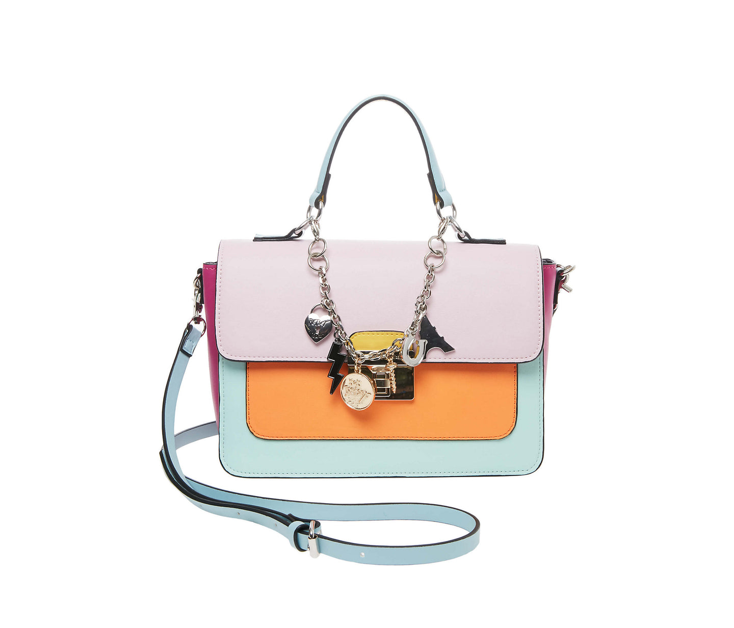 CHARMED I AM SURE SATCHEL MULTI - HANDBAGS - Betsey Johnson
