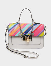 CHARMED I AM SURE SATCHEL RAINBOW MULTI - HANDBAGS - Betsey Johnson