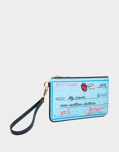 CHECK ME OUT WRISTLET BLUE