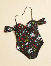 CHERRY BOMB ONE PIECE BLACK - APPAREL - Betsey Johnson