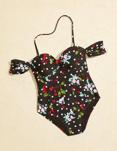 CHERRY BOMB ONE PIECE BLACK