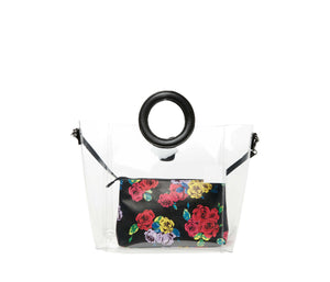 CLEAR CUT CHOICE CROSSBODY BLACK