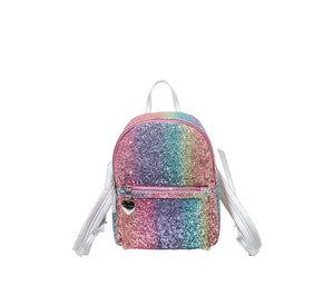 CLEARLY LINKED MINI BACKPACK MULTI