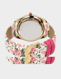 CLIMBING ROSES WATCH PINK MULTI