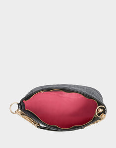 COLD BLOODED POCHETTE BLACK