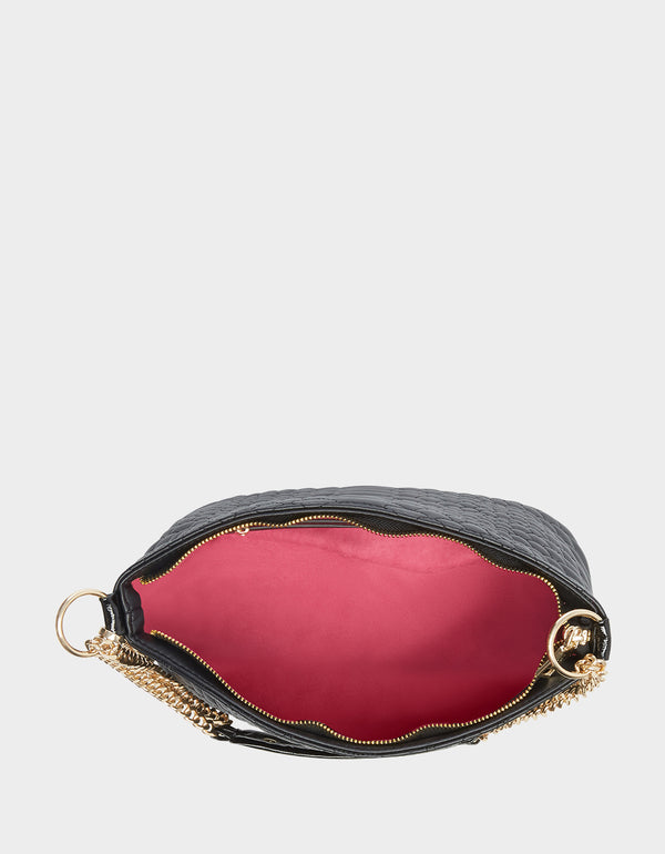 COLD BLOODED POCHETTE BLACK - HANDBAGS - Betsey Johnson