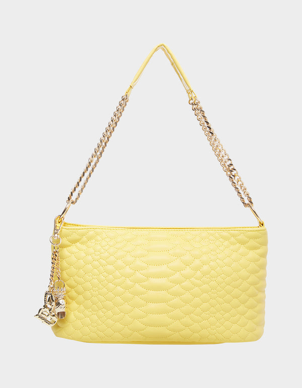 COLD BLOODED POCHETTE YELLOW - HANDBAGS - Betsey Johnson