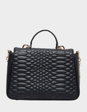 COLD BLOODED SATCHEL BLACK - HANDBAGS - Betsey Johnson