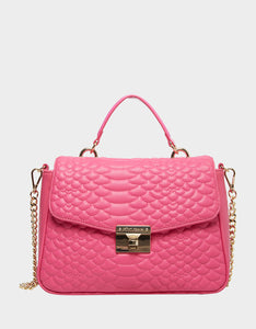 COLD BLOODED SATCHEL PINK