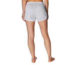 CONTRAST TRIM TRACK SHORT GREY