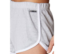 CONTRAST TRIM TRACK SHORT GREY - APPAREL - Betsey Johnson