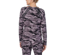 COOL GIRLS LOUNGE TOP CAMOUFLAGE - APPAREL - Betsey Johnson