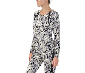 COOL GIRLS LOUNGE TOP CHEETAH