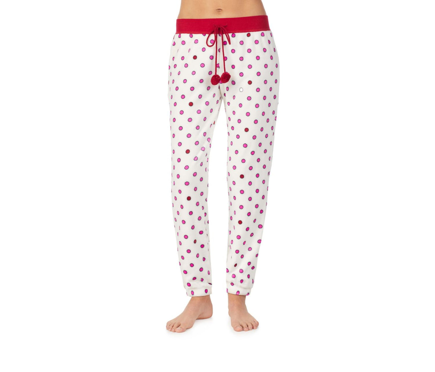 COZY TIME PLUSH PANT IVORY - APPAREL - Betsey Johnson